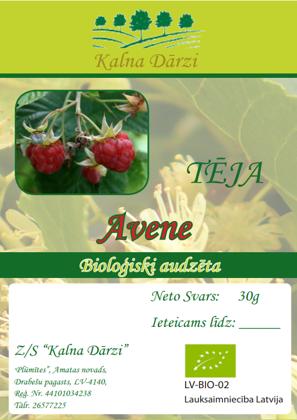 Bio tēja AVENE