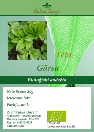 Bio tēja GĀRSA